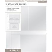 "K&Company Photo Page Refills 8.5""X11"""