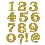 Victorian Numbers - Spellbinders Shapeabilities Dies