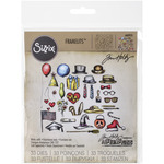 Crazy Things - Sizzix Framelits Dies  By Tim Holtz