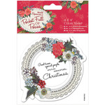 """Doily - Papermania Pocket Full Of Posies Clear Stamps 4""""X4"""""""
