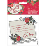 "Sentiment - Papermania Pocket Full Of Posies Clear Stamps 4""X4"""