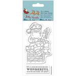 Chimney - Papermania Jolly Santa Mini Clear Stamps 75mm X 140mm