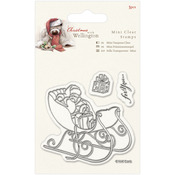 Sleigh - Wellington Christmas Mini Clear Stamps 75mm X 75mm
