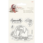 Present - Wellington Christmas Mini Clear Stamps 75mm X 75mm