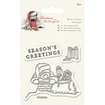 Chimney - Wellington Christmas Mini Clear Stamps 75mm X 75mm