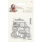 Window - Wellington Christmas Mini Clear Stamps 75mm X 75mm