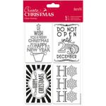 Gift Tags - Papermania Create Christmas Mini Clear Stamps 135mm X 195mm
