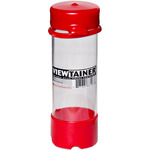 "Red - Viewtainer Tethered Cap Storage Container 2""X6"""