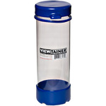 "Blue - Viewtainer Tethered Cap Storage Container 2.75""X8"""
