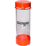 "Orange - Viewtainer Tethered Cap Storage Container 2.75""X8"""