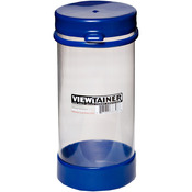 "Blue - Viewtainer Tethered Cap Storage Container 3.625""X8"""