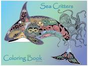 Sea Critters - EarthArt Coloring Book