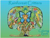 Rainforest Critters - EarthArt Coloring Book
