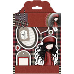 Winter's Night - Santoro Gorjuss Tweed Rubber Stamps