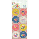 Papermania Folk Floral Stickers