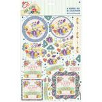 Laugh - Papermania Folk Floral A4 Decoupage Pack
