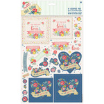 You're The Best - Papermania Folk Floral A4 Decoupage Pack