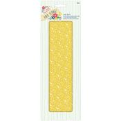 Yellow Floral - Papermania Folk Floral Deco Sheets 3/Pkg