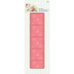 Coral Floral - Papermania Folk Floral Deco Sheets 3/Pkg