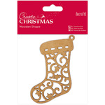 Stocking - Papermania Create Christmas Wooden Shape
