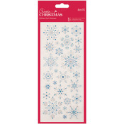 Snowflakes - Papermania Create Christmas Glitter Dot Stickers