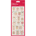 Christmas Presents - Papermania Create Christmas Glitter Dot Stickers