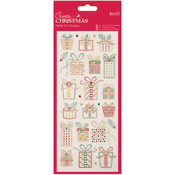 Christmas Presents - Papermania Create Christmas Glitter Dot Stickers