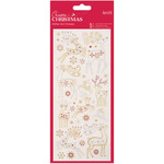 Reindeers - Papermania Create Christmas Glitter Dot Stickers