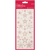 Stars - Papermania Create Christmas Glitter Dot Stickers