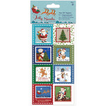 Papermania Jolly Santa Tear Off Toppers 16/Pkg