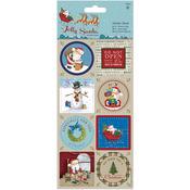 Papermania Jolly Santa Stickers