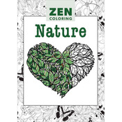 Zen Coloring Nature - Guild Of Master Craftsman Books