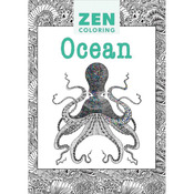 Zen Coloring Ocean - Guild Of Master Craftsman Books