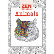 Zen Coloring Animals - Guild Of Master Craftsman Books
