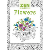 Zen Coloring Flowers - Guild Of Master Craftsman Books