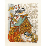 "8""X10"" 14 Count - Family Blessing Counted Cross Stitch Kit"