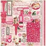 Adore Details Stickers - Authentique