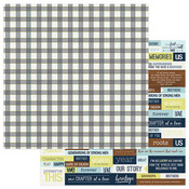 Plaid Paper - Family Ties - Photoplay