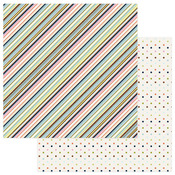 Multi Stripe Paper - Family Ties - Photoplay