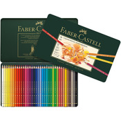 Polychromos Colored Pencil Set In Metal Tin 36pc