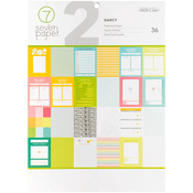 "Seven Paper Darcy - Studio Calico Single-Sided Paper Pad 9""X12"" 36/Pkg"