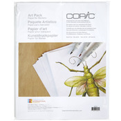 "Coloring Foundations Art Paper Pack 8.5""X11"" 25 Sheets"