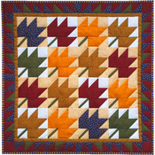 "22""X22"" - Leaves Wall Quilt Kit"