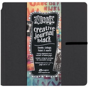 Dylusions Dyan Reaveley's Black Creative Square Journal
