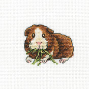 """4""""X4"""" 14 Count - Larky Lucky Counted Cross Stitch Kit"""