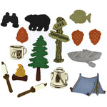 Camping - Dress It Up Embellishments