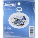 """2.75"""" Oval 18 Count - Bluebird Mini Counted Cross Stitch Kit"""