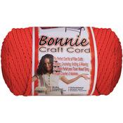 Coral - Bonnie Macrame Craft Cord 4mmX100yd