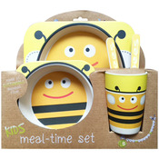 Bumble Bee - Bamboo Fiber Kids Plate Set
