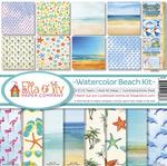 Watercolor Beach Collection Kit - Ella & Viv